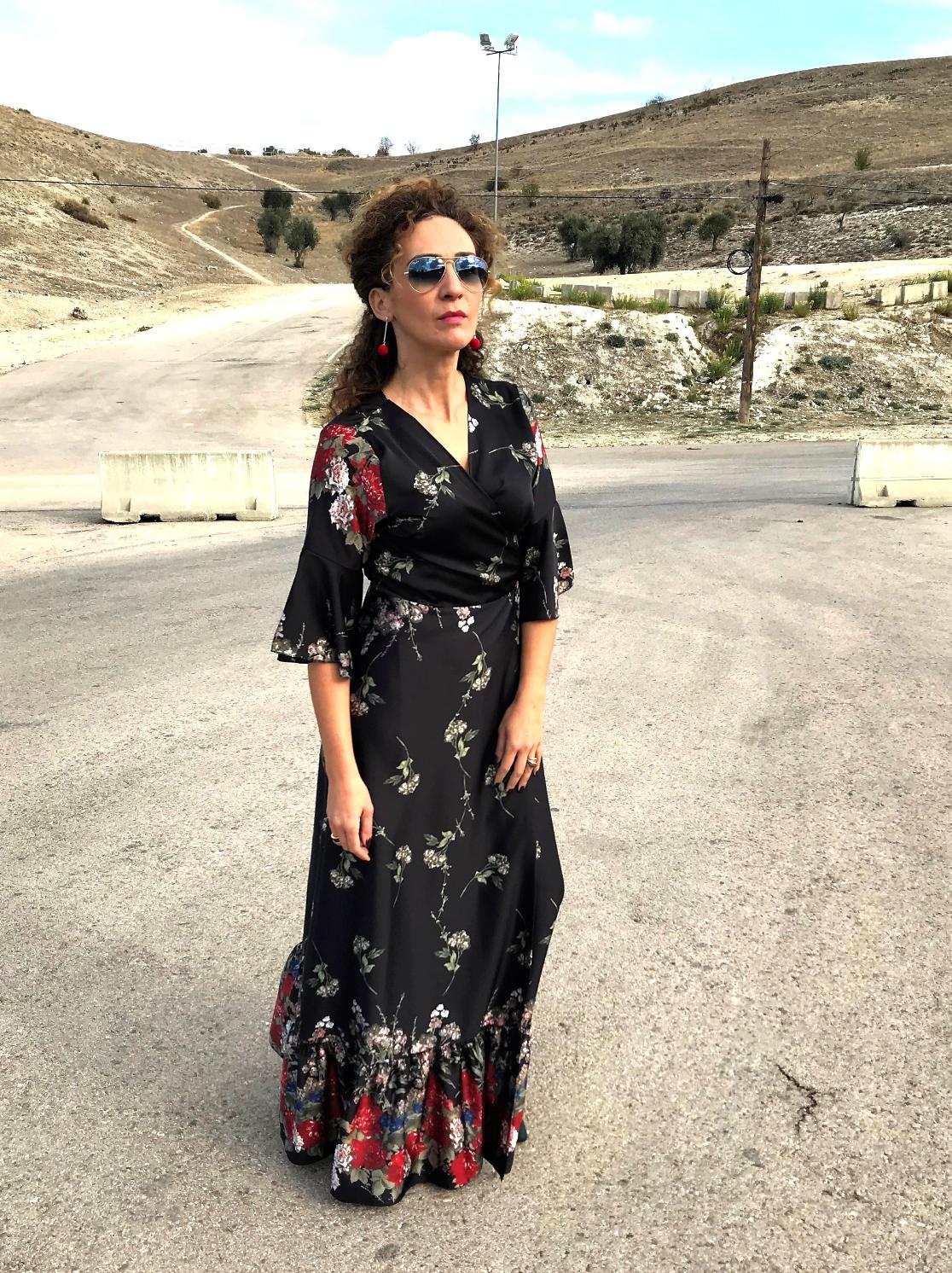 Look maxi vestido negro