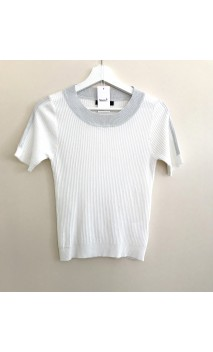 JERSEY WHITE LUREX